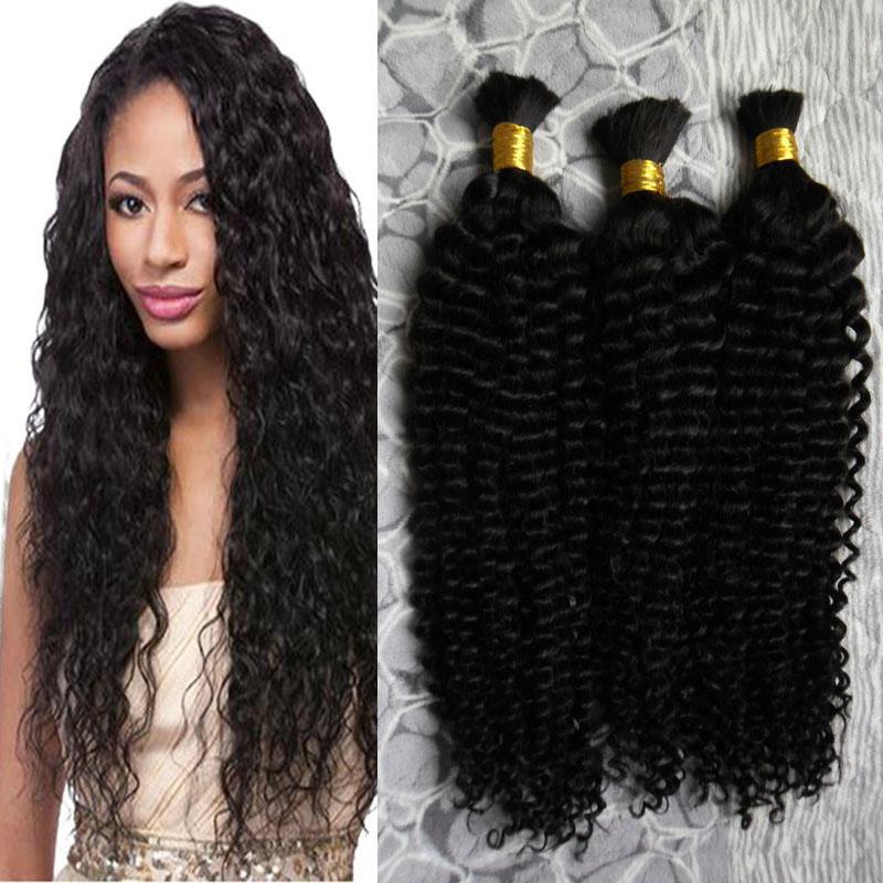 300g brasileiro afro kinky encaracolado cabelo humano em tece pacotes de cabelo para trança na cor natural 8 a 30 polegadas trança sem trama cabelo a granel
