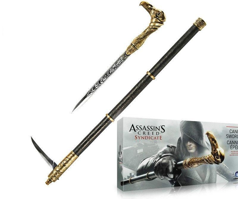 Assassin's Creed 6 Syndicate COSPLAY Requisiten 1: 1 Kunststoff Lawrence Sleeve Turn Stick Ärmel Gauntlet Sticks