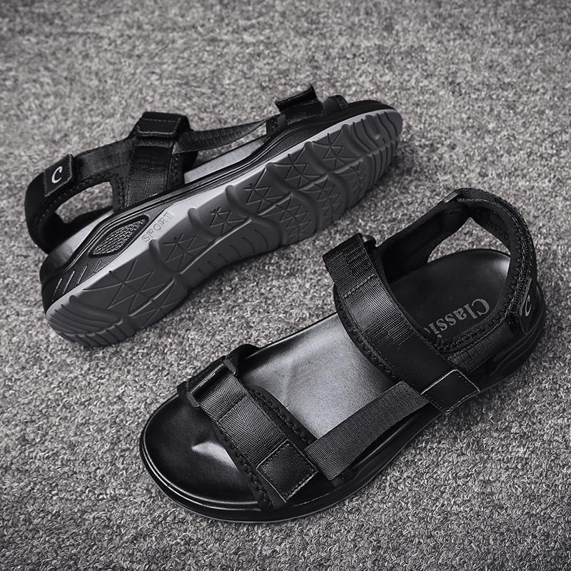 zandalias Mode Sandalen Arbeit Sport Trekking erkek de sandles Mann römischen sandali Schuhe Leder uomo rasteira sandel da verano