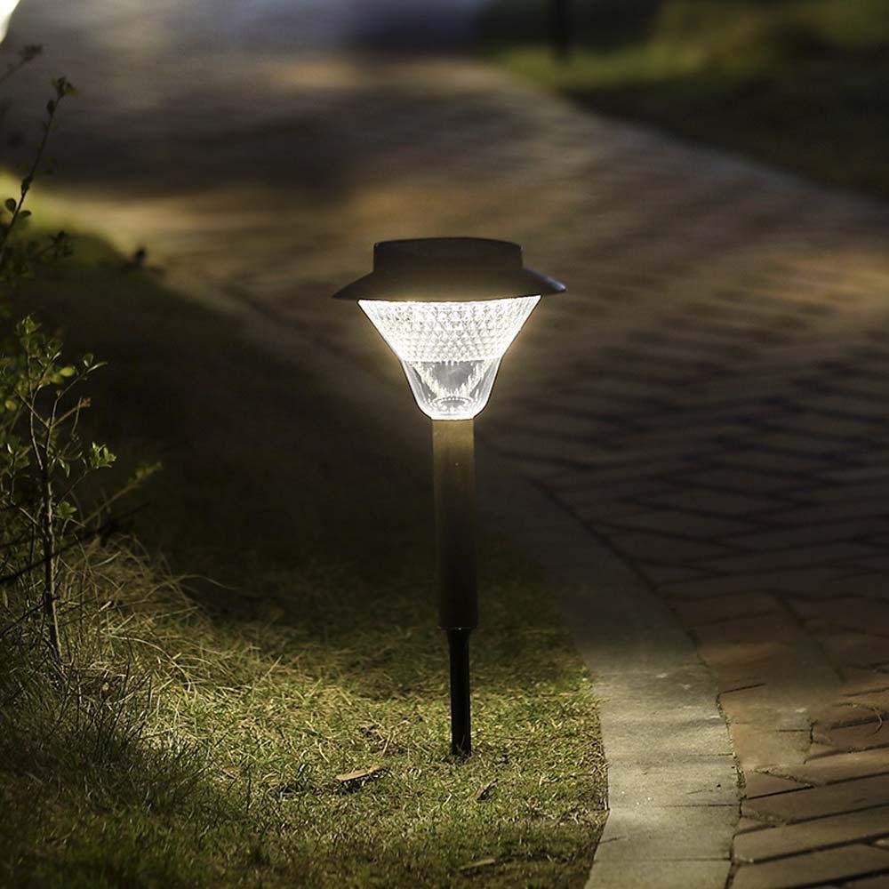 BRELONG 48LEDs 야외 태양 지상 빛 IP65 방수 잔디 빛 화이트 / 따뜻한 화이트 1 개