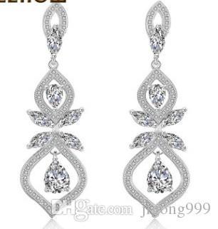 nobile prezzo basso di alta qualità più colore diamante cristallo orecchini donna 38.9nntytjgytfgf