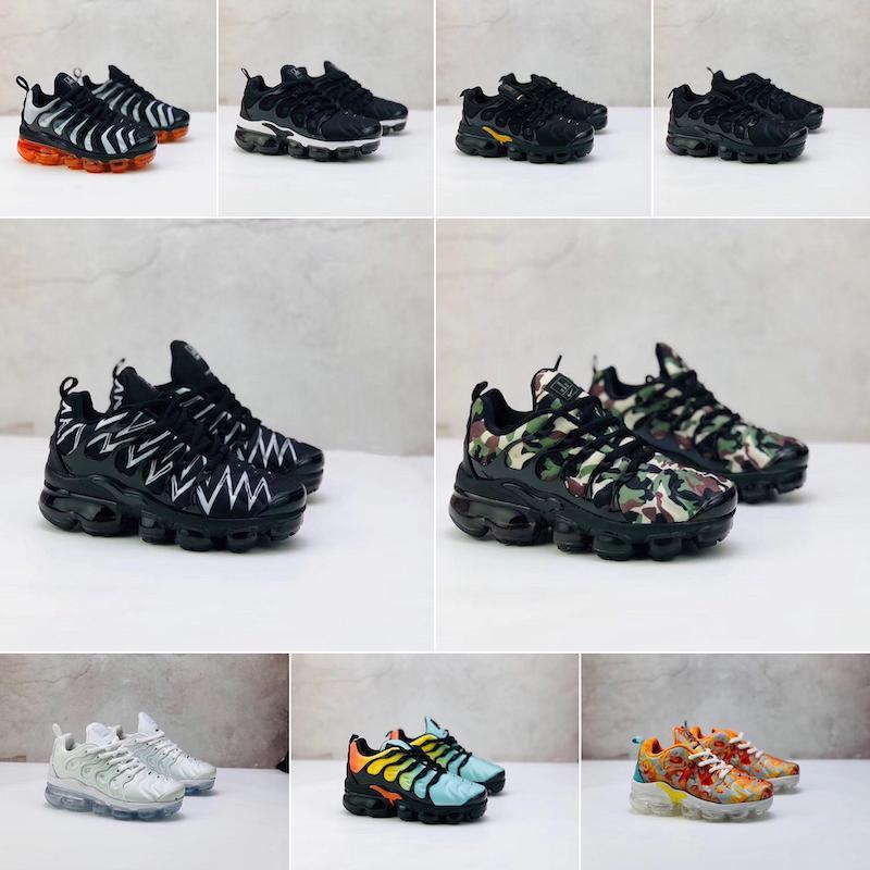 Nike Air VaporMax Plus TN Designer 2019 Tn Plus Chaussures Sneakers Sport triple noir blanc loup gris cool Chaussures Air tns