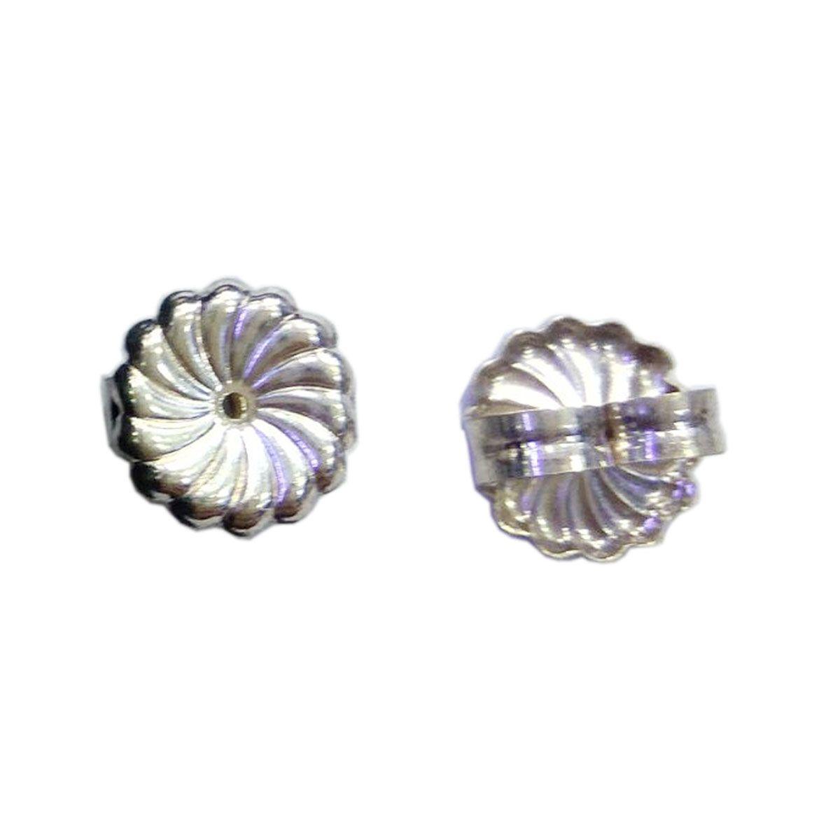 wholesale 925 Sterling Silver Jewelry Finding Ear Nut Earring Back ID37587