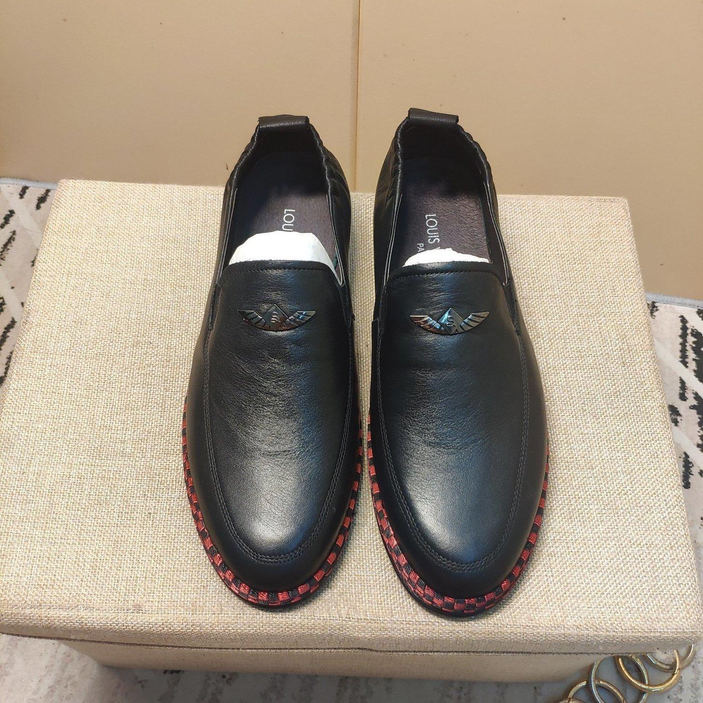ocasional qualidade FXWDtop dos homens calçam as sapatilhas sapatos de couro 20200311-452 * 1273 JI8I
