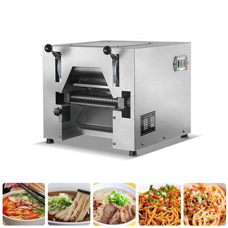 TRANSPORTE LIVRE automático cheio de milho Noodle café Mesa de aço inoxidável Imprensa Amassar Comercial Multi-funcional Noodle Máquina