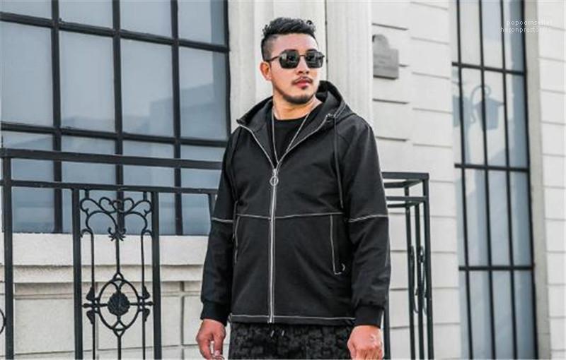 Jackets Mens solto jaquetas Homens Plus Size Designer Brasão jaquetas Fluffing Inverno Long Sleeve Zipper Hoodies