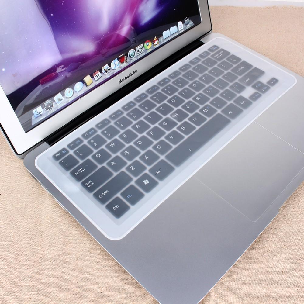 Evrensel Genel 12-14 inç Şeffaf Laptop Klavye Kapak Koruyucu Silikon Jel Film Koruyucu Klavye Kapak