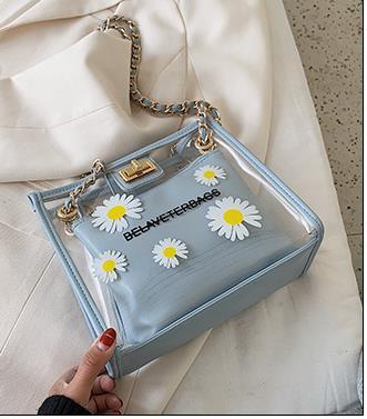 Trasparente Madre e Figlia Femmina Bag 2020 nuova versione coreana del piccolo ondata di Daisy Shoulder Bag Messenger