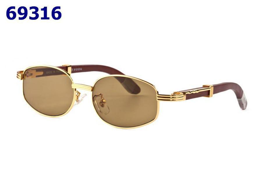 유럽과 미국의 고전적인 패션 여성의 안경 럭셔리 틀 나무 패션 패션 프랑스 남자의 광학 브랜드 선글라스