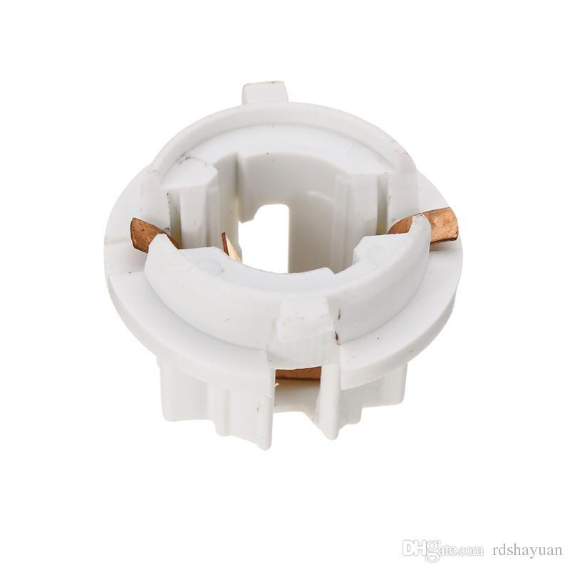 흰색 자동차 자동 후면 테일 라이트 램프 전구 소켓 홀더 BMW 7 시리즈 X5 E53 E70 E65 X3 E83