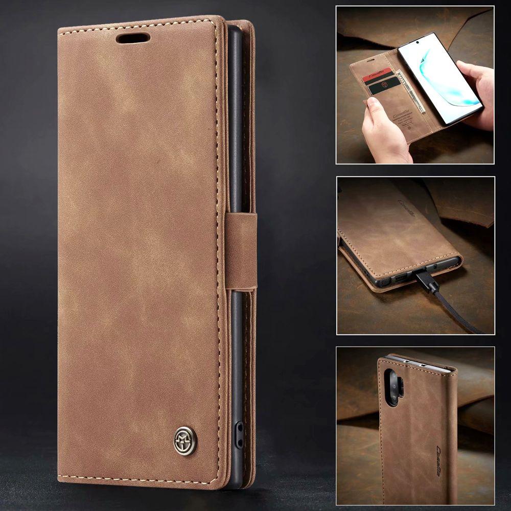 Classique Porte-monnaie en cuir pour Samsung Galaxy Note 10 COUVERTURE note10 + Case note10 plus Phone Housse de protection Shell