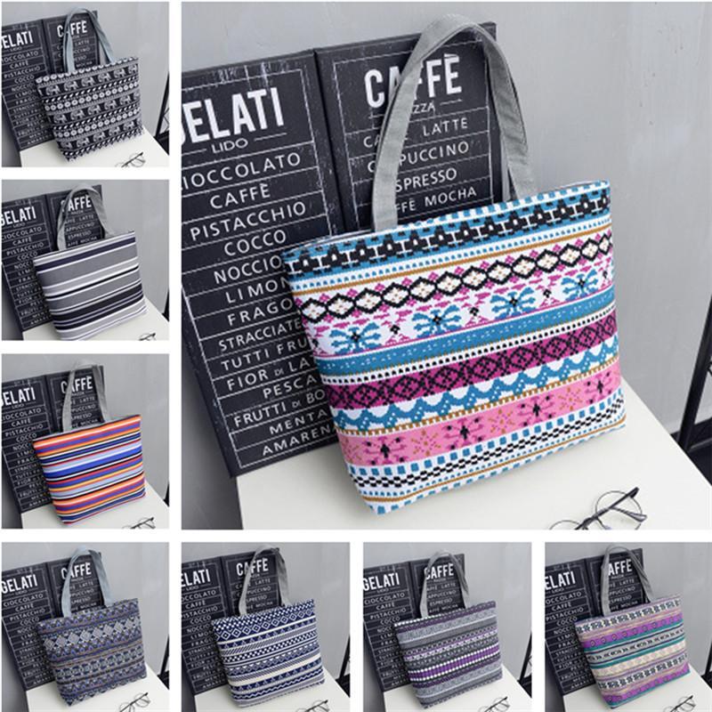 Новая сумка для женщин Холст сумка Мода большой емкости высокого качества плеча Сумка подростковая девушки школы Lady Popular Durable сумки женщин
