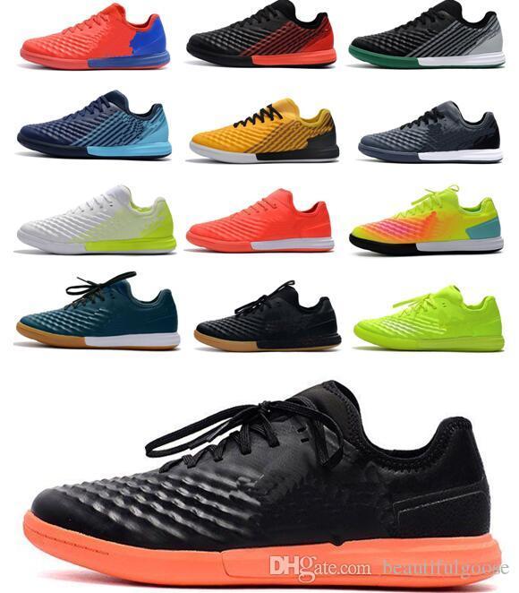 Los nuevos zapatos baratos ACC Cristiano Ronaldo Magista II IC TF fútbol para hombre Magista X fútbol sala interior Hombres Magista Obra Tacos de fútbol Botas de fútbol