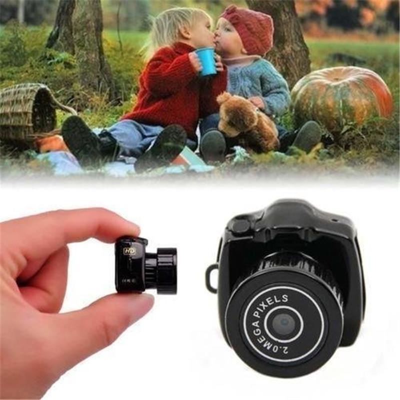 Hide Candid HD Smallest Mini Camera Camcorders Digital Photography Video Audio Recorder DVR DV Camcorder Portable Web Kamera Micro Camera