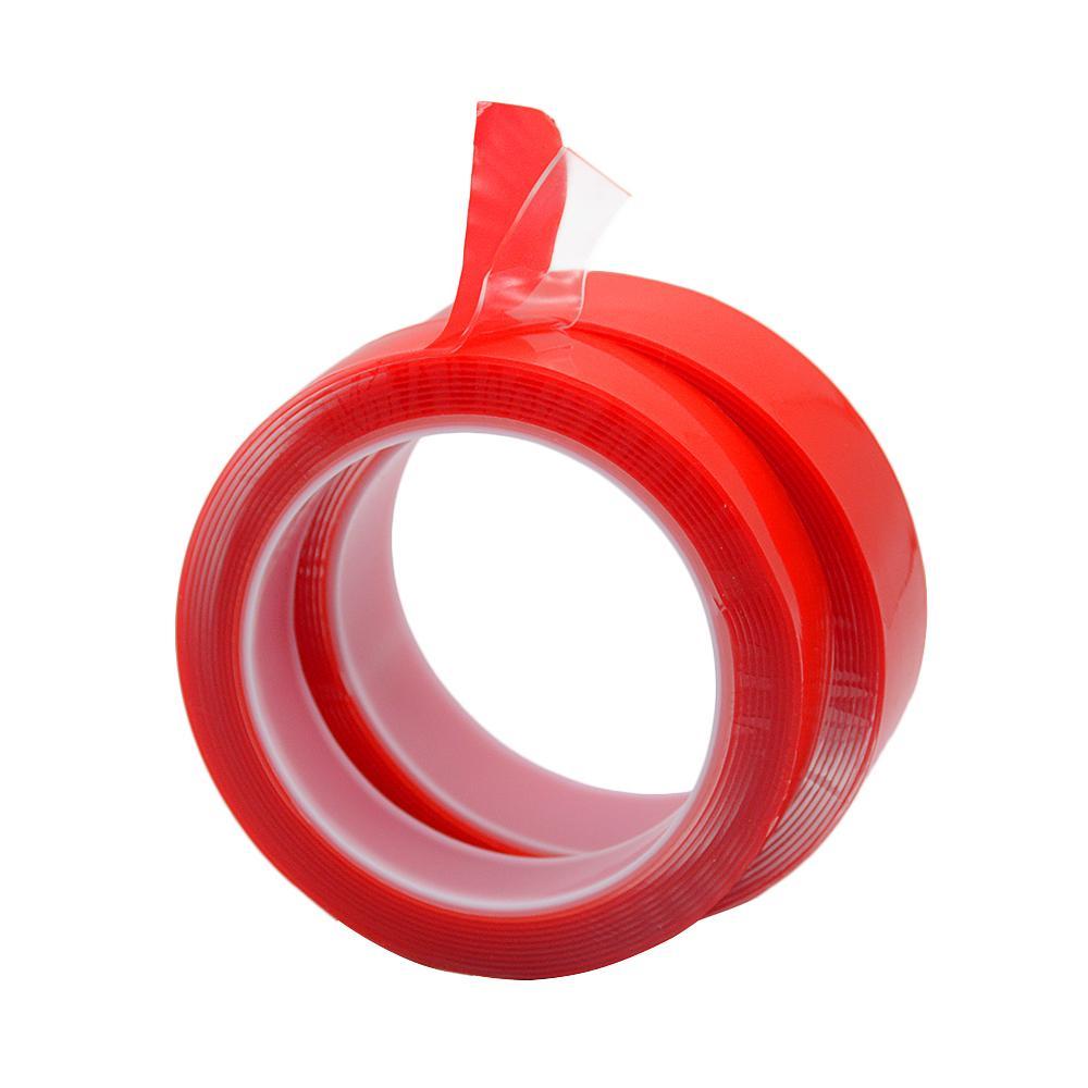 3M 5mm 6mm 8mm 10mm 12mm 15mm Doppelseitiger Klebstoff Superstarkes transparentes Acrylschaum-Klebeband No Traces Sticker