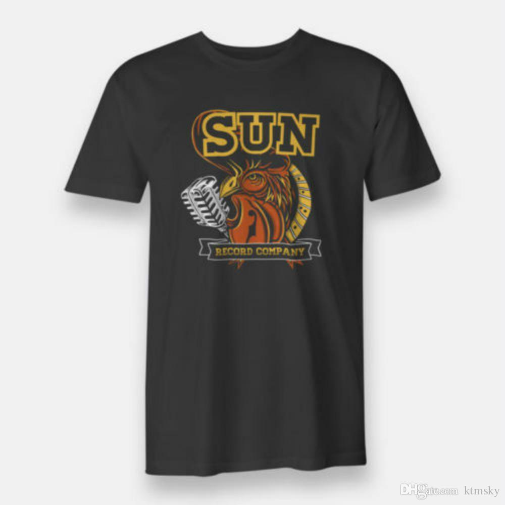 Sun Records Hip Hop T-Shirt for Men