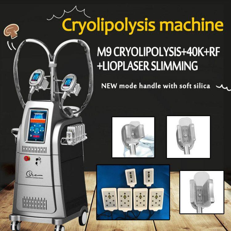 Meilleures ventes perte de poids de la machine de congélation de la graisse de graisse corporelle réduction des graisses gel minceur machine minceur poignée