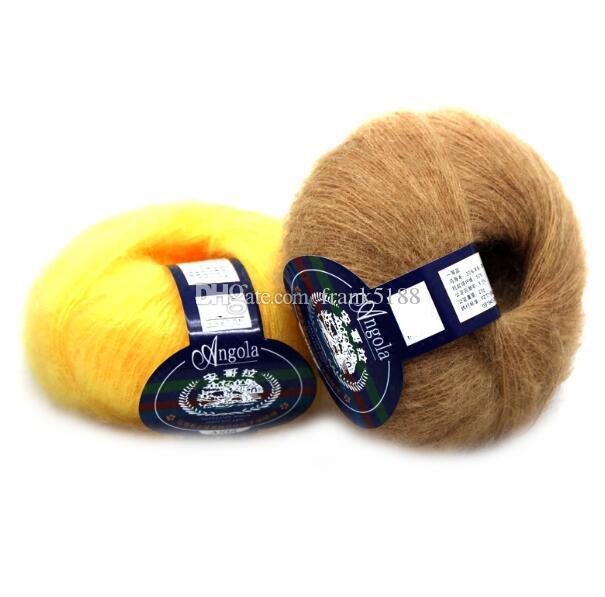 25g/ball Yarn Knitting Mohair Wool Knitting Soft Yarn Fingering Baby Crochet Yarn Knitting Threads Knitted Crochet Strings