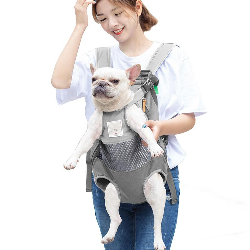 Pet Backpack Carrier For Cat Dogs Front Travel Bag Carrying Animals Small Medium Bulldog Puppy Mochila Para Perro