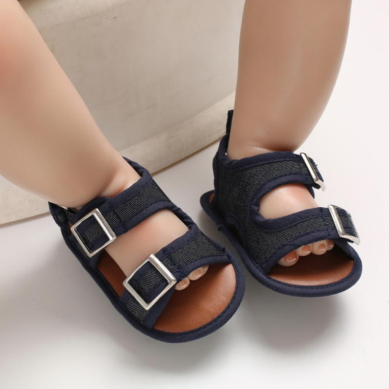 Été nouveau-né enfant en bas âge infantile de bébé solides Première Walkers Chaussures souples Sole antidérapante étanchéité Chaussures Chaussures Chaussures Crib # p4