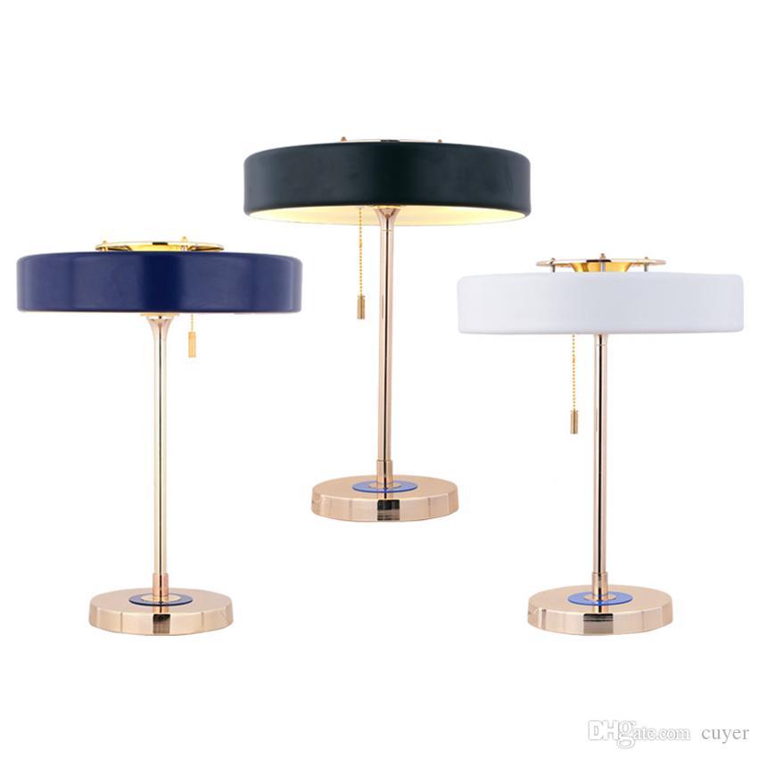 Modern, Metall, LED Tischleuchte LED-Schreibtischleuchten für Wohnzimmer Schlafzimmer Nacht Study Lese Startseite Beleuchtung Leuchte Decor