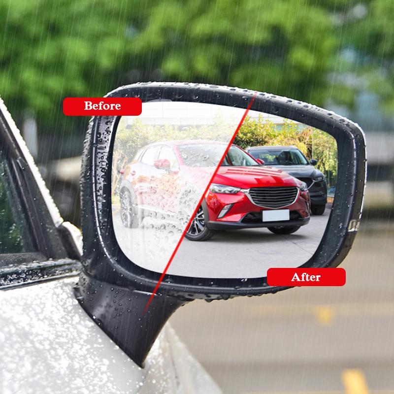 fog regenfeste schutzfolien auto rückspiegel 21 // transparenz fenster anti