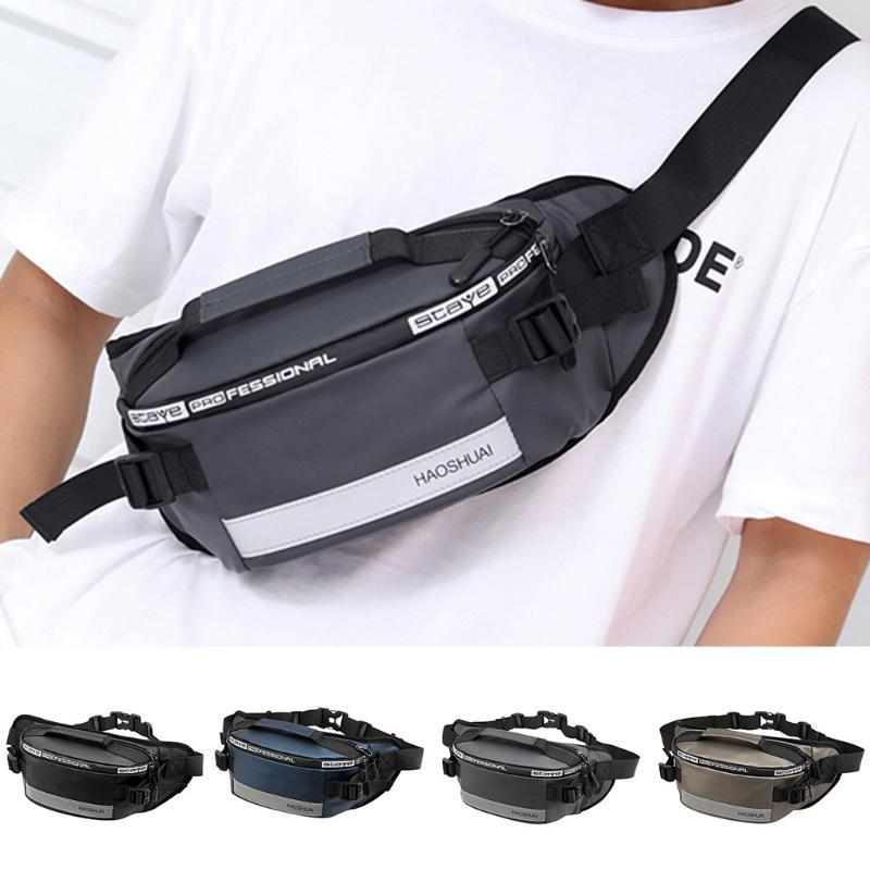 New Men Women Leisure Waist Chest Bags Fashion Pack Travel Sport Phone Bag Purse
