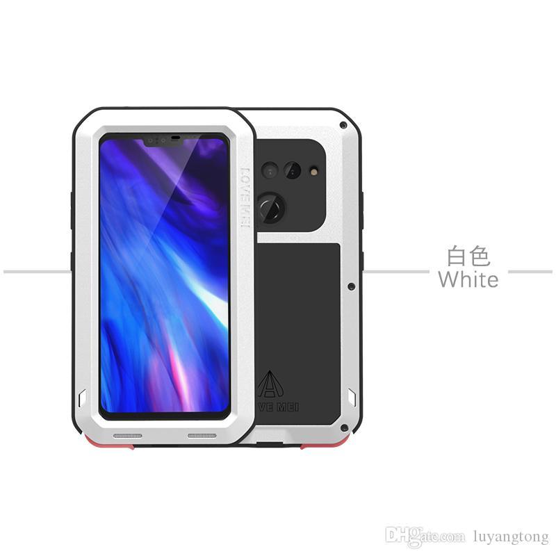 Coque V40 ThinQ Love Mei Housse de protection pour LG V40 Case V405QA7 Puissante Couverture V405TAB Cas de téléphone portable