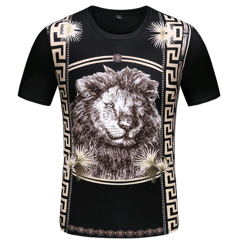 marca uomo manica corta T-shirt design happyday originale alfabeto inglese multa di stampa T-shirt digitale