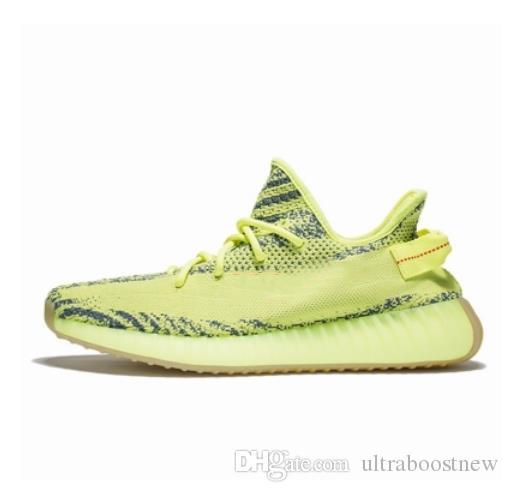 Nouveau mode triple formateurs s pour les femmes de l'homme semelle transparente pleine vert surdimensionné Air Bubble chaussures en cours d'exécution avec boîte d'origine