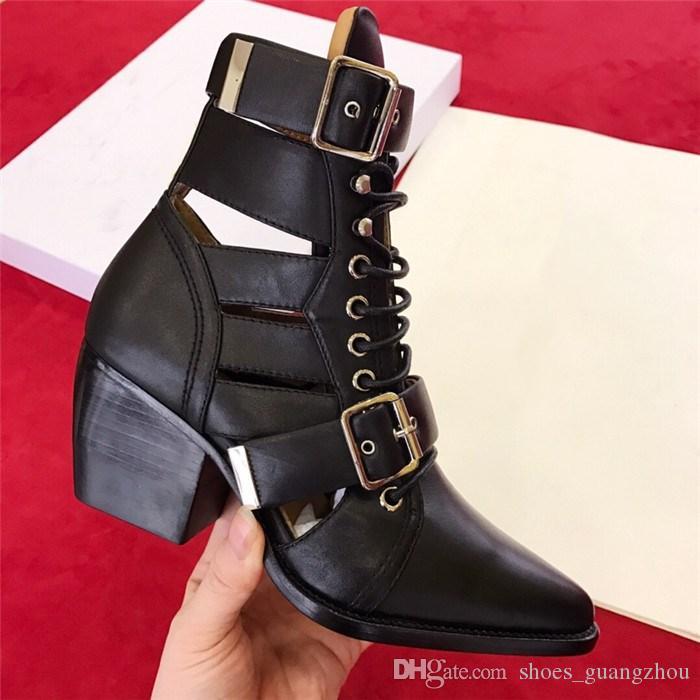 Sonbahar ve kış yüksek topuk sandalet çizmeler, Lokomotif tarzı tasarım dantel-up nefes ile kadınlar için sandalet kutusu boyutu 35-41