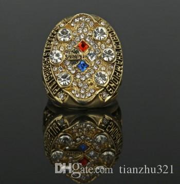 wonderful 2pcs/lots champion diamond crystal 925 silver Men's Fan Ring up-market gift free shipping2008