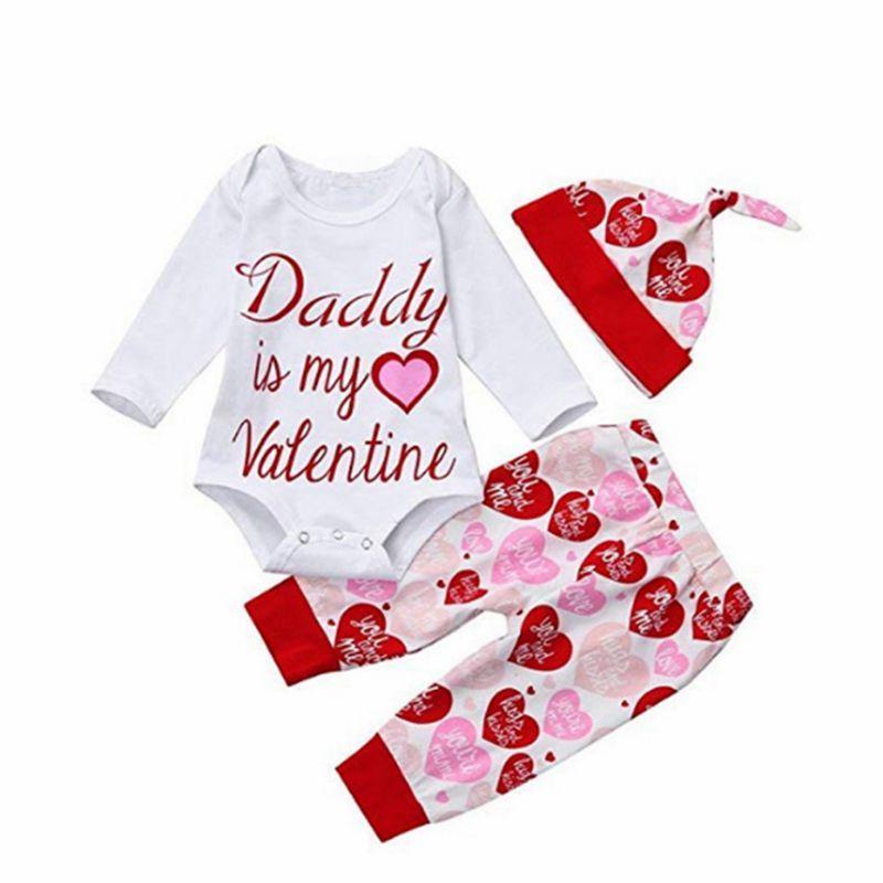 DADDY IS MY VALENTINE Baby Bib