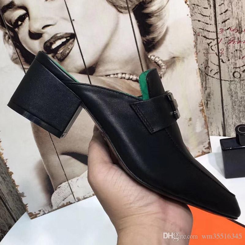 Compre Mules Diapositivas Mujer Zapatos Mujer Tallas Grandes Mujer Zapatillas Tacon 5 Cm A 62 Del Wm35516345 Dhgate Com