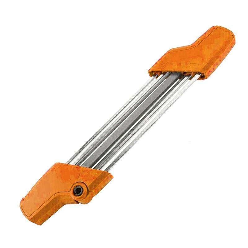 1 개 세트 수동 치아 톱 체인이 깎이 도구 목공 빠른 연삭 전력 전기 톱 체인을 바 마운트를 4.8mm 4mm
