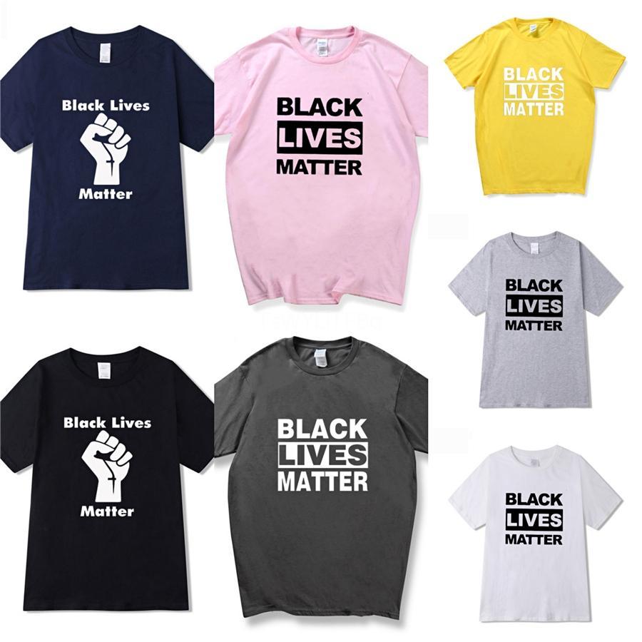 Eu não posso respirar! Famosa marca Mens Designer camiseta Mens Cotton respirável camisetas Homens Mulheres Bordados de luxo manga curta Tees # 387
