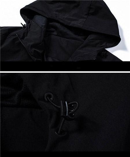 Marka Yüksek Kalite Uzun Kollu Casual Tasarımcı Erkek Moda Gevşek Rüzgarlık ve Doğal Renkler ile Spor Ceket için Boyut M-4XL QSL198261