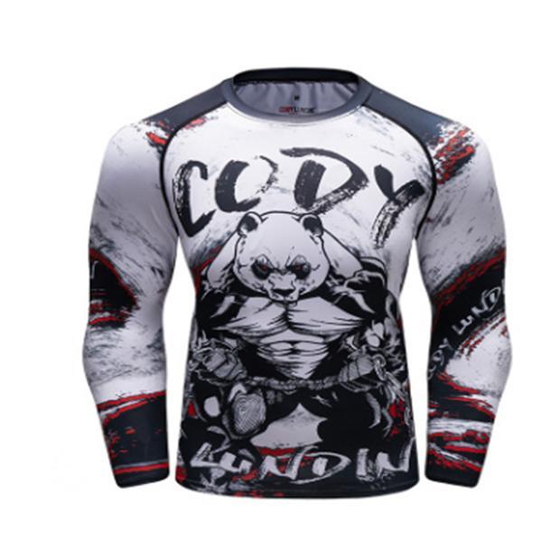 Brand new sportswear degli uomini, compressione sportswear, stretto allenamento sportswear, velocità massima a secco da jogging all'aperto kit