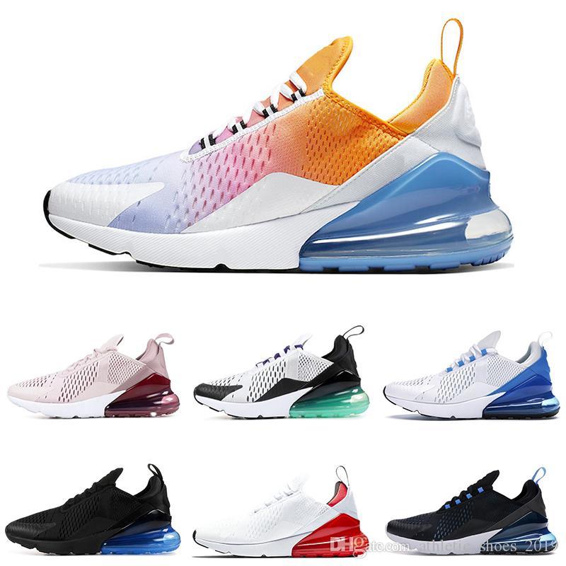 2020 Rainbow Running Shoes Men Women Cactu University Red Metal Black triple white Throwback Future Grape Photo Blue Sneakers