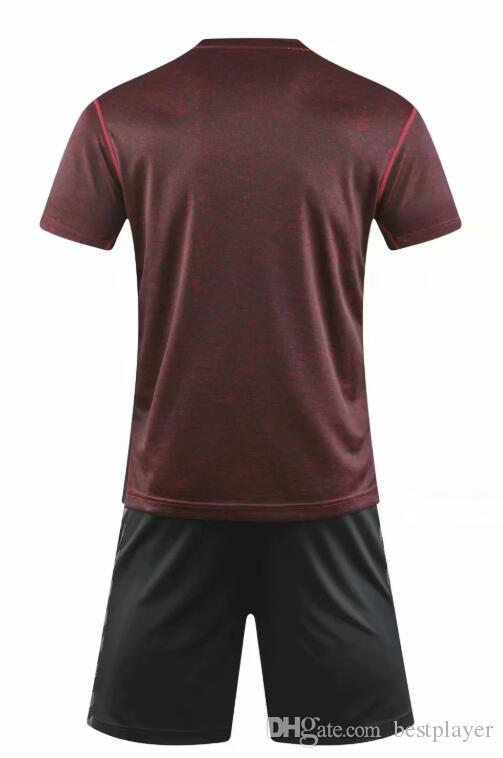 shirt publicitaire culturelle 2020 hommes jersey personnalisés avec col rond # A04