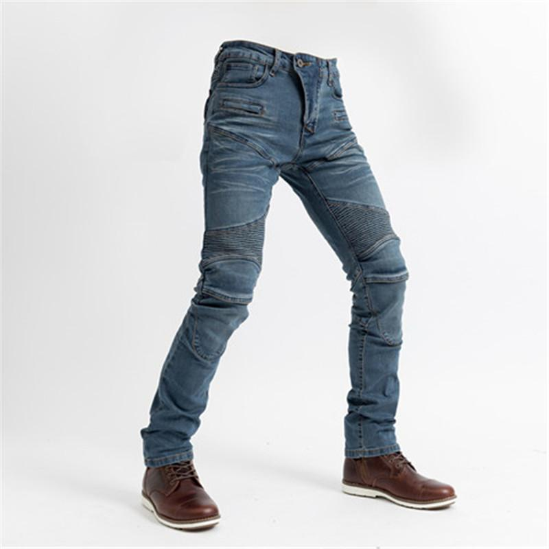 2019 Komine Motorcycle PK718 Jeans Leisure Motorcycle Men's Off-road Outdoor Jean/cycling Pants
