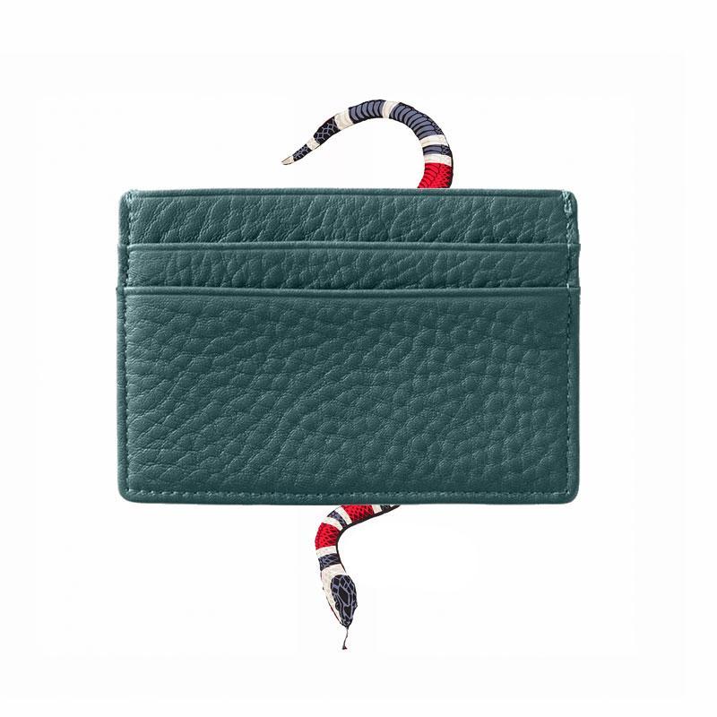 esigner d bolsas para mujer de la moda masculina original y de cuero titular de la tarjeta femenina tarjeta de crédito público paquete de la tarjeta del paquete