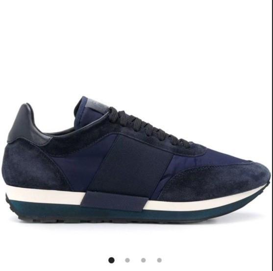 2019 scarpe sportive in pelle stazione di lusso europei per gli uomini scarpe moda maschile traspirante in tessuto elasticizzato versatile casual 38-46 MH09