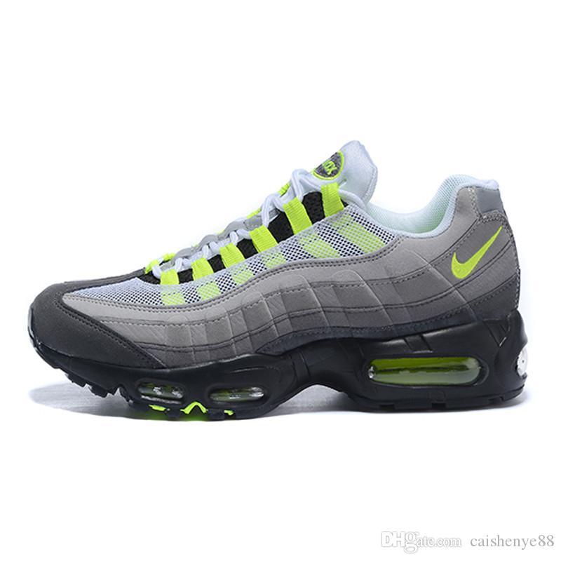 Nike air max 95 2020 los zapatos corrientes de las zapatillas de deporte para las mujeres de diseño deportivo Negro Trainer colores blancos de las ventas calientes