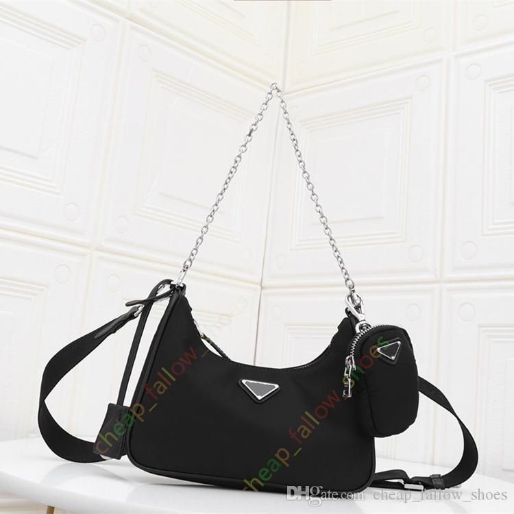 الأزياء حقيبة يد مصمم جديدة ذات جودة عالية 2 قطعة الأزياء النسائية الصليب الجسم حقيبة الكتف الهاتف المحمول حقيبة محفظة الشحن المجاني