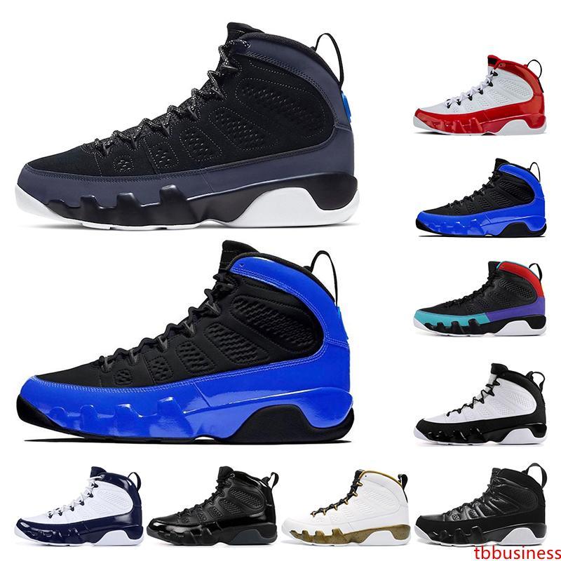 2020 zapatos de baloncesto gimnasio 9s bule rojo de la raza sueño en blanco y negro que lo haga criado UNC para hombre entrenadores deportivos zapatos deportivos tamaño 7-13