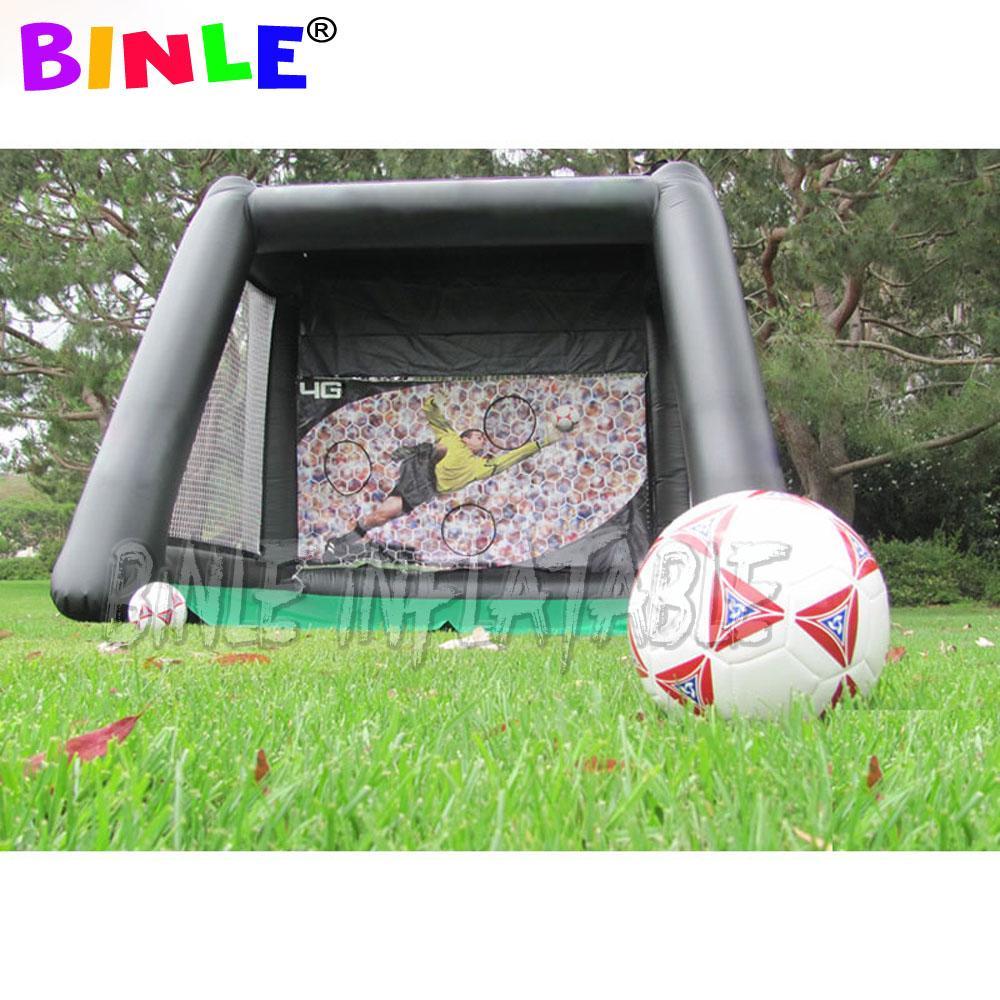 في الهواء الطلق فائقة مثيرة للاهتمام دائم PVC هدف كرة القدم للنفخ قابل للنفخ لكرة القدم هدف آخر لعبة الرماية الهدف للمتعة