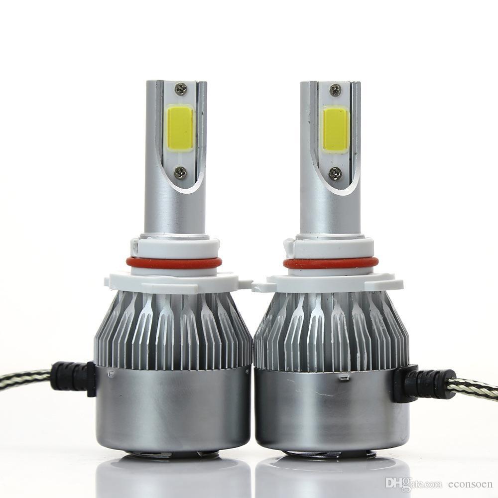 50 pair 12V 6000K H7 Car led headlight H1 H3 H4 H7 H11 H13 9006 9007 880 Auto led Bulb C6 Automobiles Headlamp Fog lamp
