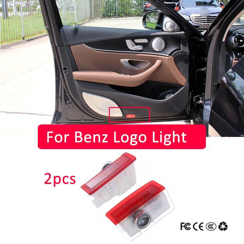 2x для Mercedes Benz E W213 W212 C W205 A W176 B W246 AMG LED автомобильный дверной логотип лазерный проектор легкие стиль логотипа