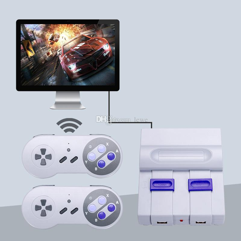 Brand new 2.4G wireless game consoles can store 500 video games consoles 8 BITS for NES SFC games consoles 500